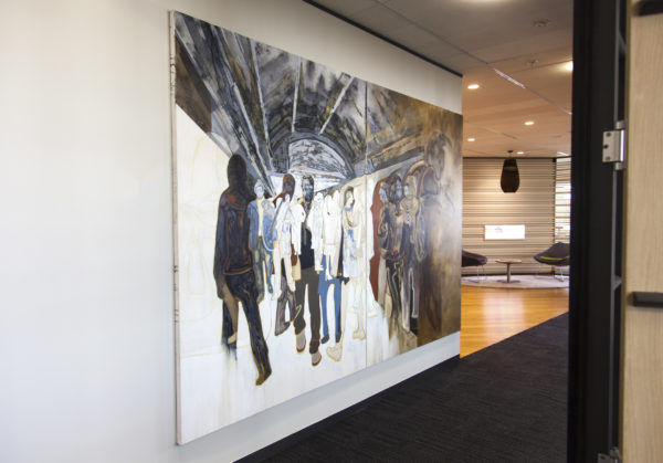 Mobile Art Gallery staff can assist in selecting the right art for your office space