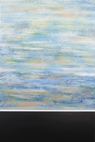 Serenity NZ artist Judy Wood abstract art
