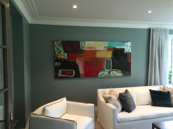 Art rental for house sale