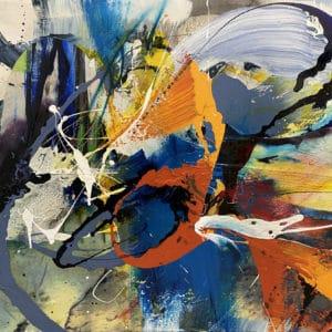 Anti Static Blue by Christina Popovici