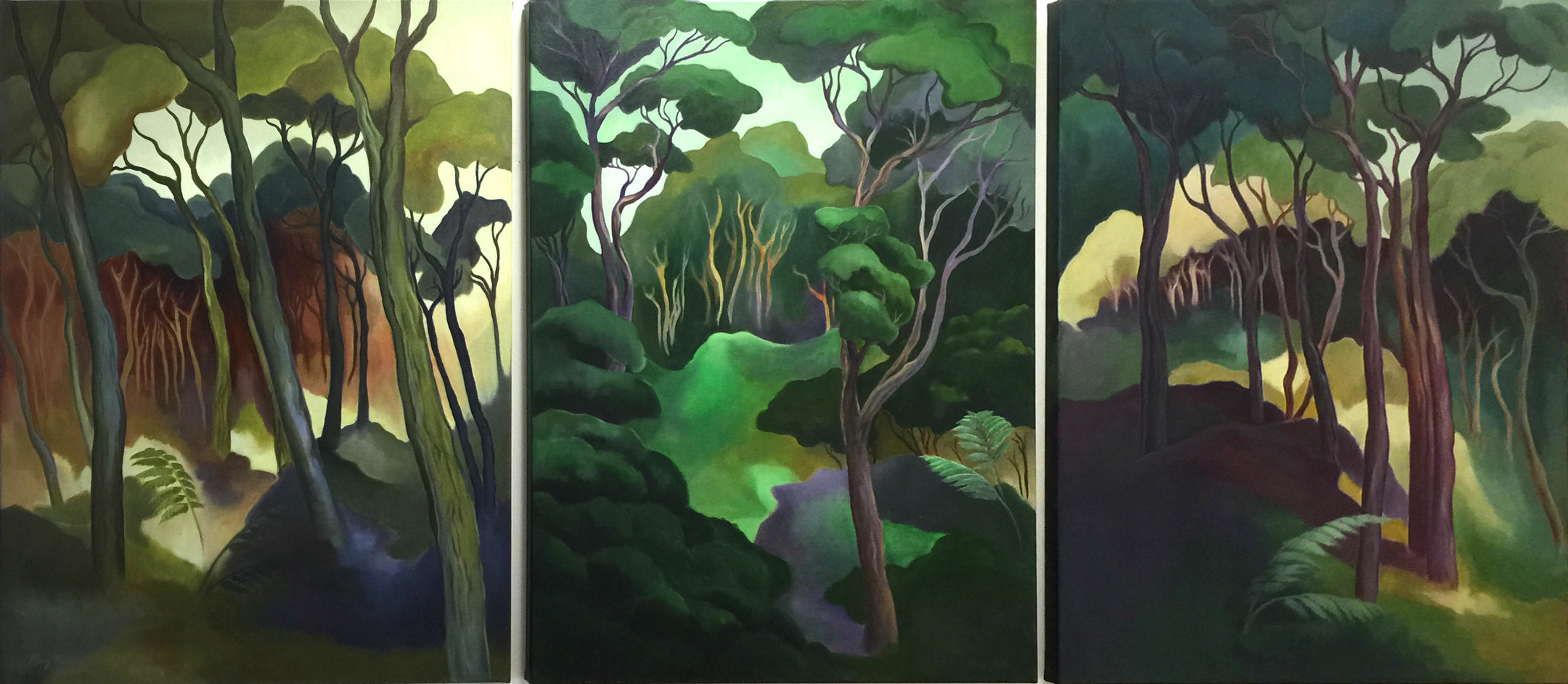 Kanuka Triptych
