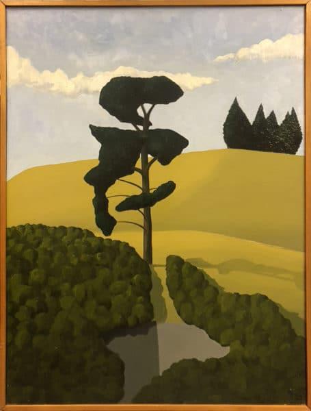 On Mt Eden No. 2 1969 by Geoff Tune