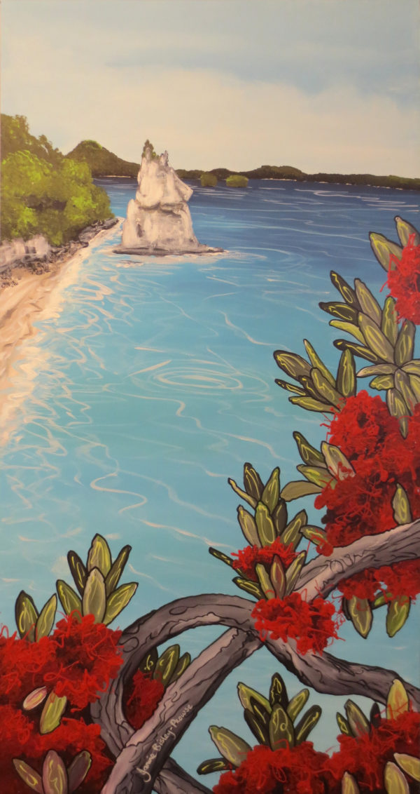 NZ ArtPinnacle at the cove by Janine Prowse