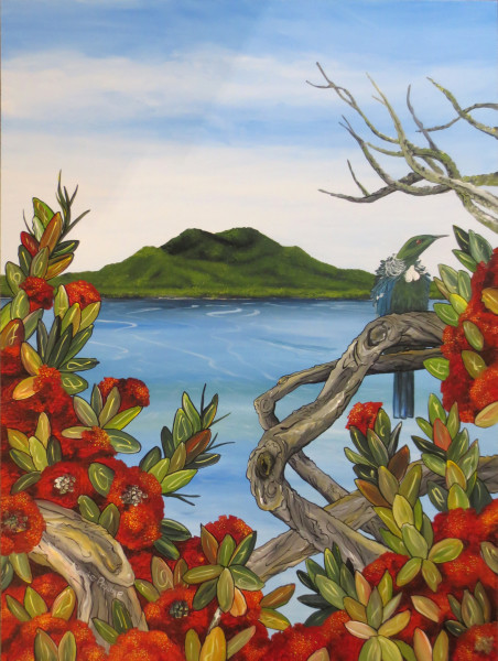 Rangitoto Island NZ Art - Mobile Art Gallery