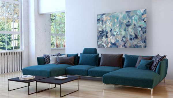 Mobile Art Gallery staff can assist you in selecting the right art for your home