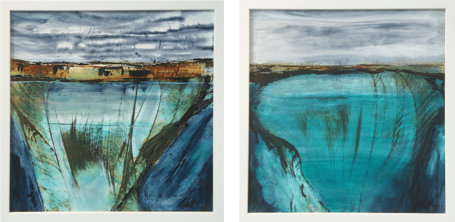 Pathways 4 and 5 diptych
