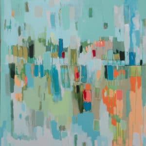 Abstract Artist Constanza Briceno