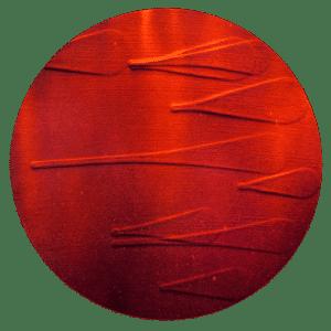 Small Red Tondo