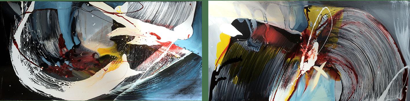 Spin 1 and 2 - Landscape - Cristina Popovici