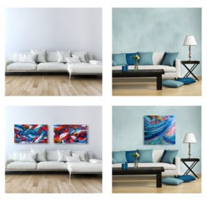 Interior Design: Great Features in Mobile Art Gallery's App can help!