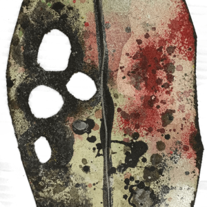 Pohutukawa Leaf - Small - Beige 3rd