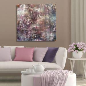 NZ Artwork - Song of the weaver - Judy Wood - NZ Artist - Mobile Art Gallery