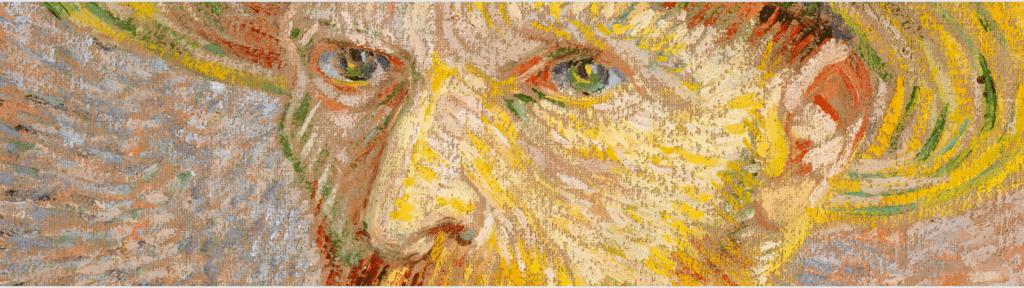 Painter Liz Mcaullife and Vincent Van Gogh