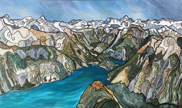 NZ Art Arriving - Milford Sound