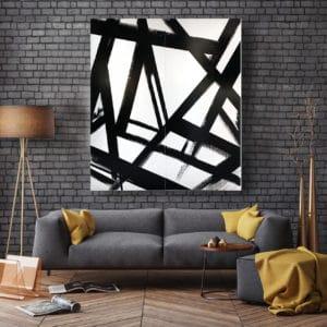 Black and white art - Truss