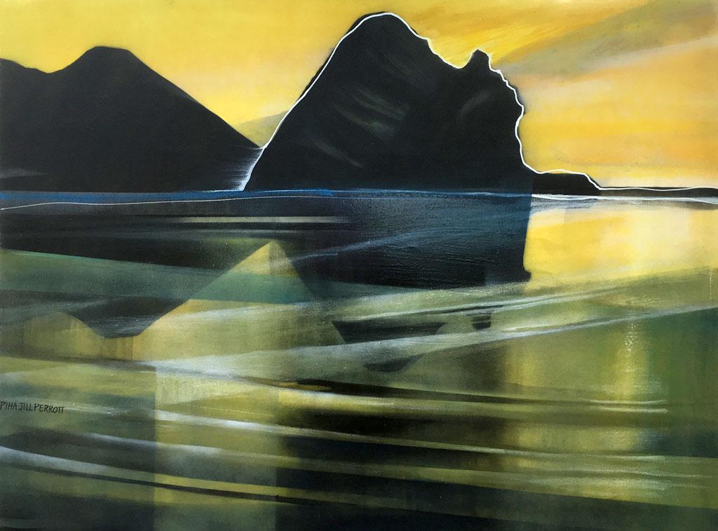 NZ art Piha by Jill Perrott