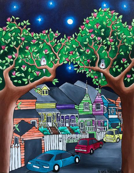 Auckland Art Brown St Ponsonby by Angela Heemskerk