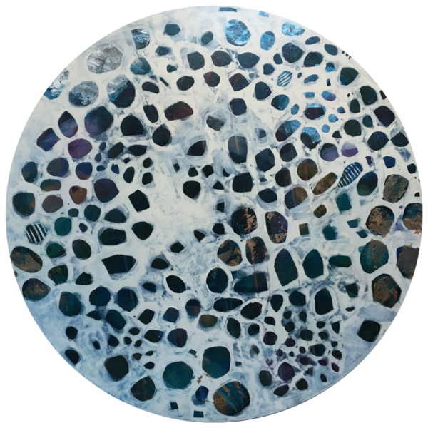 Abstract Art Paua by Jody Hope Gibbons