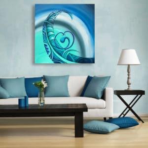 NZ ArtworkAotearoa Legend by Reina Cottier