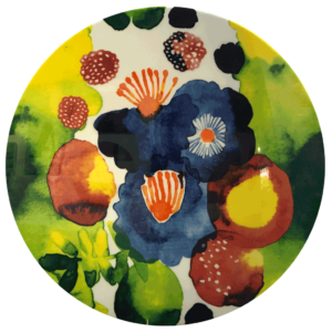 Floral artTie Dye Flower 1 of 5 by Charlie McKenzie