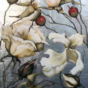 NZ Art Late Blooms by Nicki Manthel