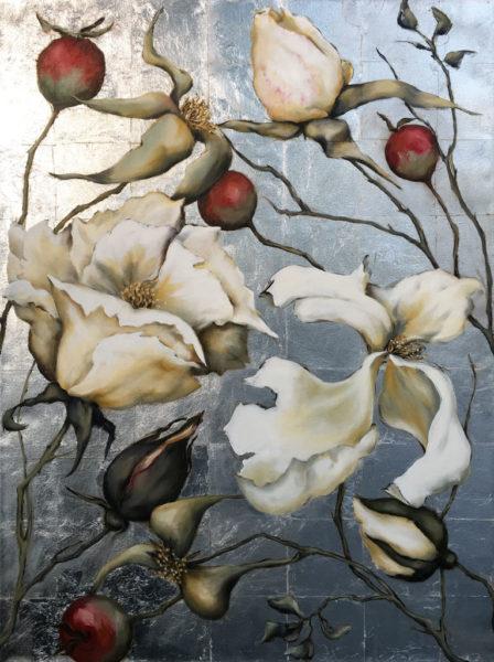NZ Art Late Blooms by Nicki Manthel
