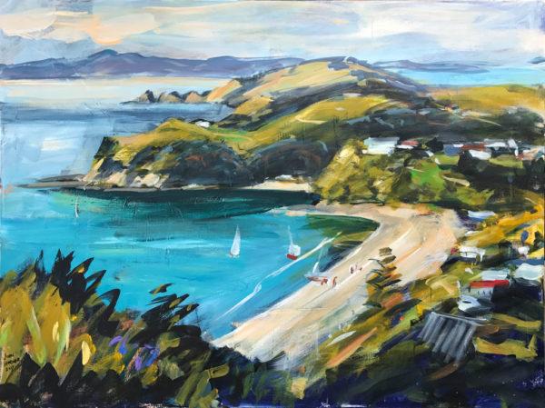 NZ Landscape Palm Beach by John Horner