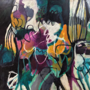Abstract ArtThe Maddening is Luscious by Talulah Lautrec-Nunes