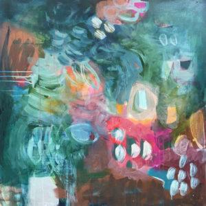 Abstract Art Royal 1 by Jody Hope Gibbons