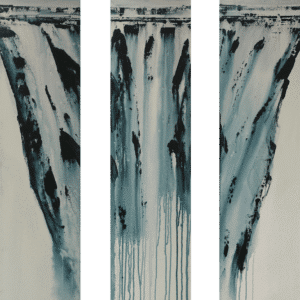 Contemporary Landscape Waterfall by Ron Hall