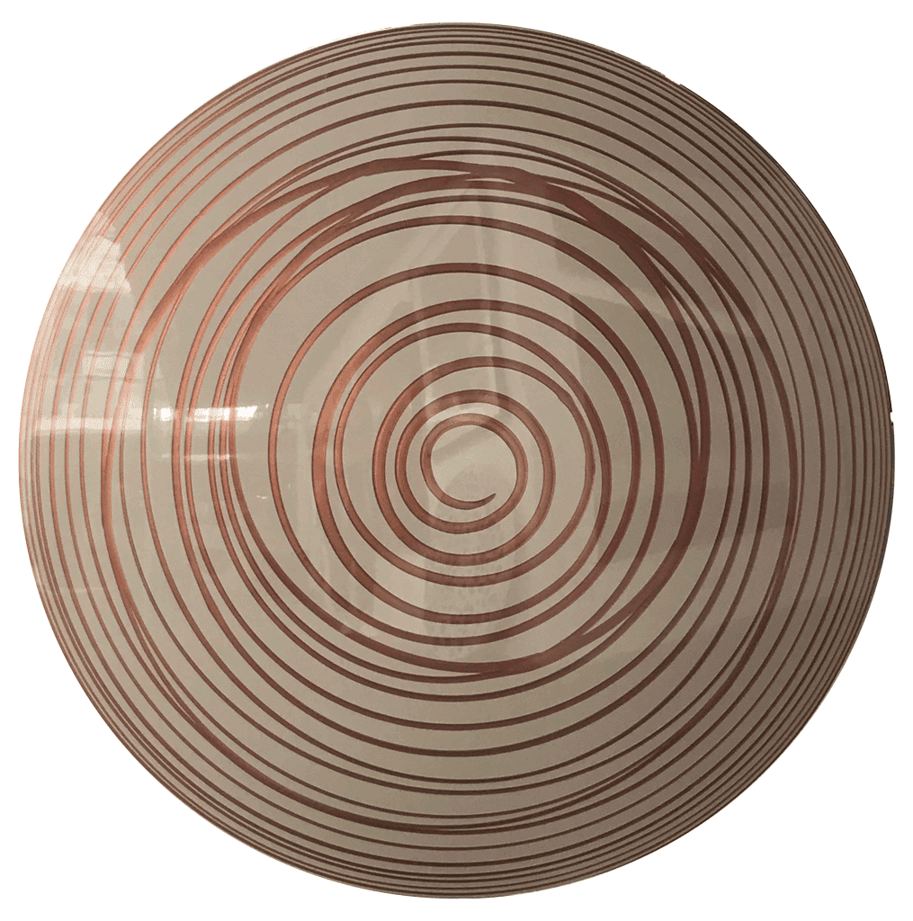Abstract Art Copper Runner by Charlie McKenzie
