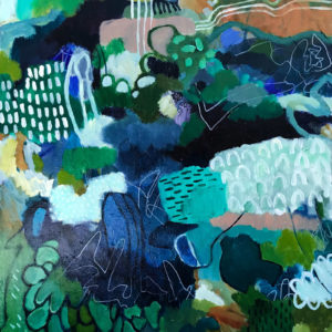 Abstract ArtDogwood by Talulah Lautrec-Nunes