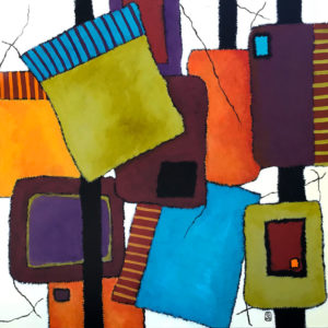 abstract artLoyalty by Guiditta Spurlin