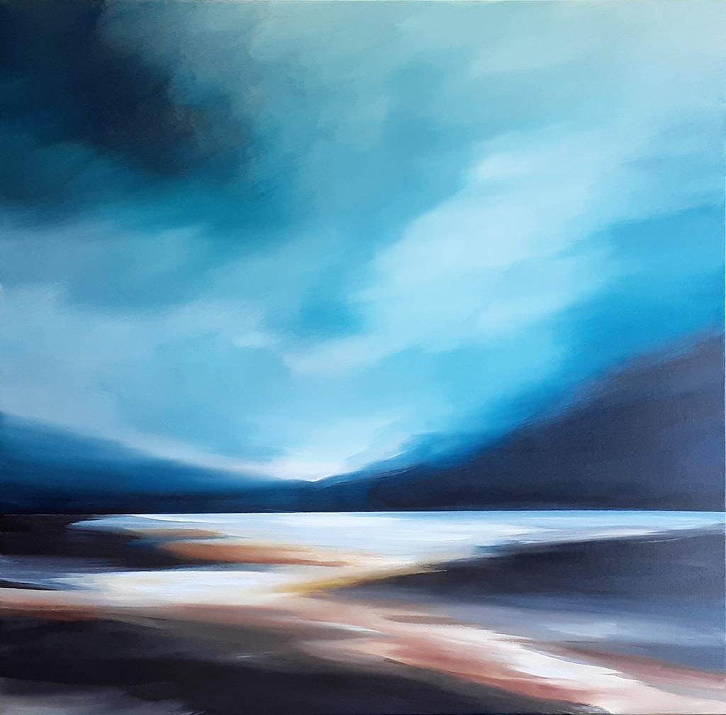 Contemporary landscape - River of Dreams by Tut Blumental