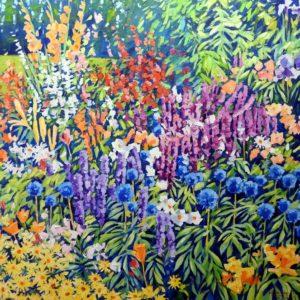 The Flower Garden by Bill Burke
