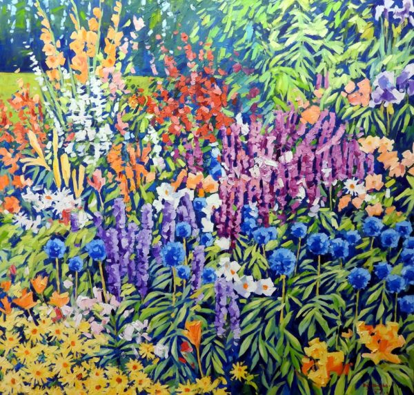 The Flower Garden by Bill Burke