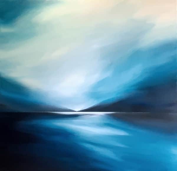 Contemporary landscape - Whispers in Heaven by Tut Blumental