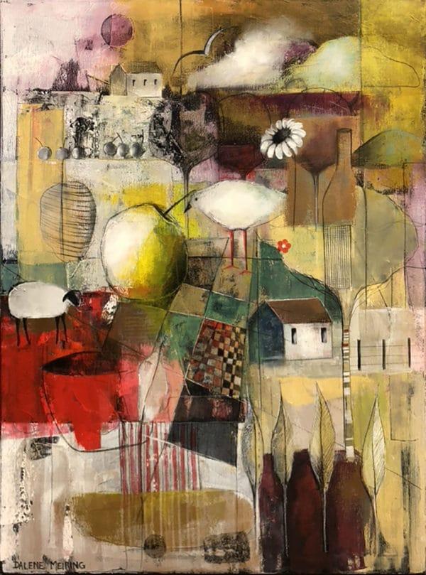 Colourful Scenery - A New Season by Dalene Meiring