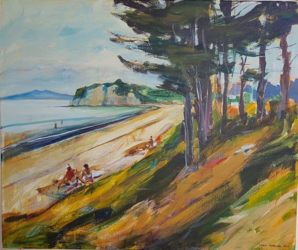 NZ Landscape - Long Bay by John Horner