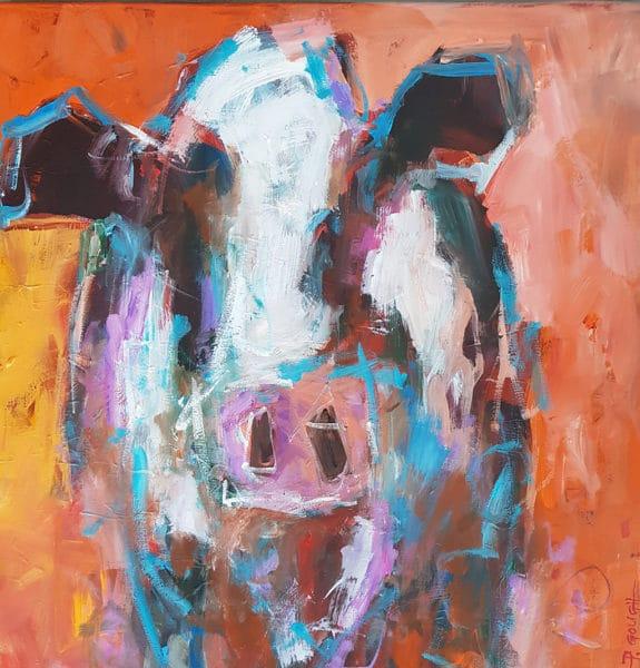 Farm animals - Nellie by Pauline Gough