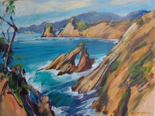NZ Landscape - Rawhiti, Bay of Islands by John Horner