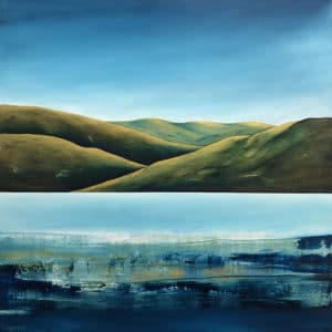 Contemporary Landscape - Feels Like Home by Adele Eagleson