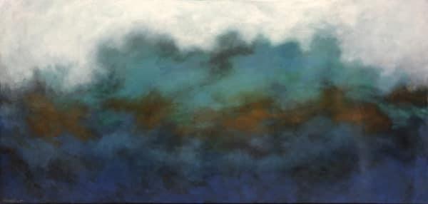 Seascape - Great Barrier 1 by Hazel Hunt