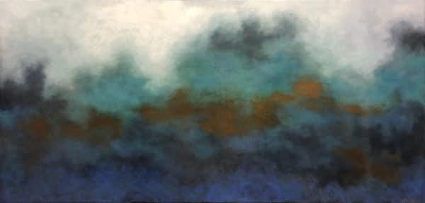 Seascape - Great Barrier 2 by Hazel Hunt
