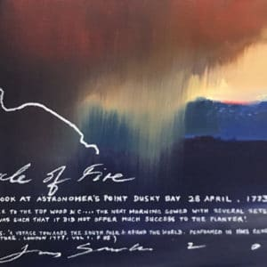 NZ landscape - Circle of Fire by Peter James Smith