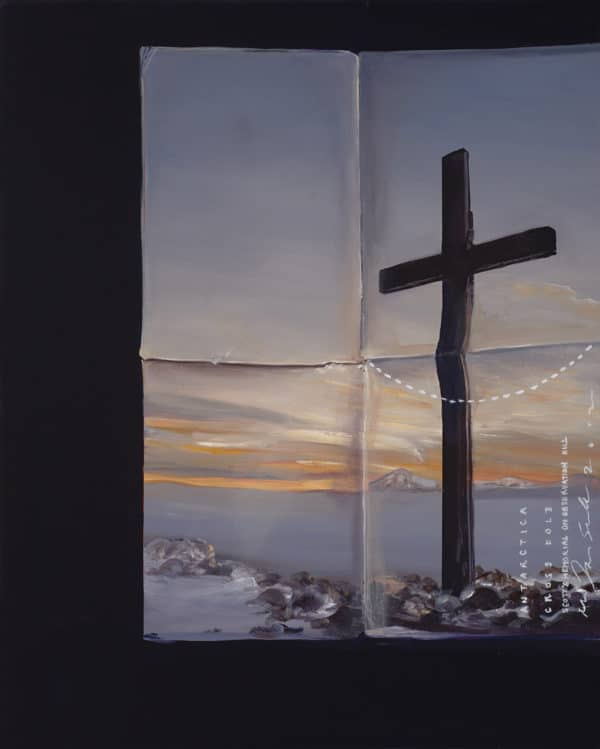 Landscape - Cross Fold (Antarctica) by Peter James Smith