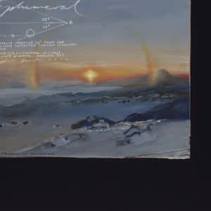 Antarctic Landscape - Ephemeral by Peter James Smith