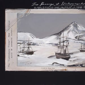 Antarctica Landscape - Ice Passage at Winterquarters Bay by Peter James Smith