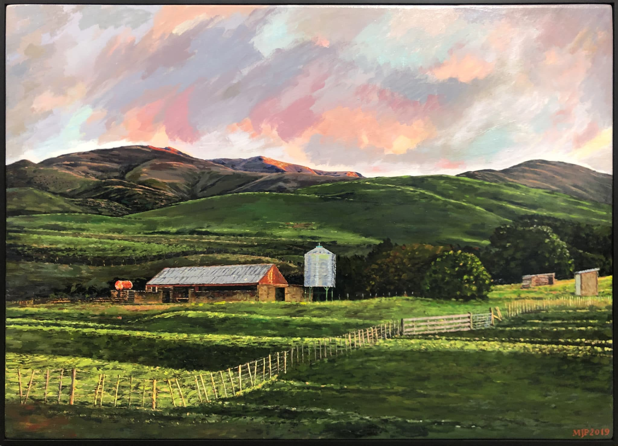 NZ Landscape - Milking Shed Ranfurly by Matt Palmer