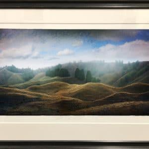 Framed print, Ridgeline King Country by Matt Palmer